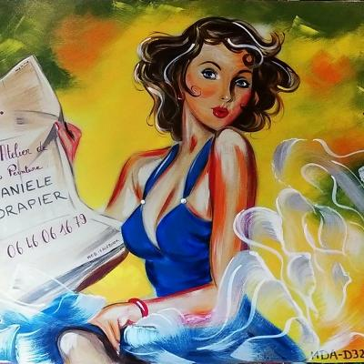 Atelier d'artiste - Danièle Drapier - tous droits réservés