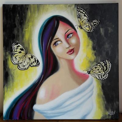 Les 3 papillons