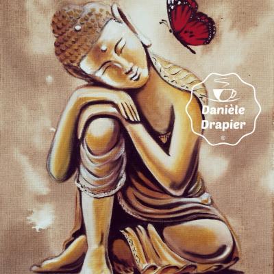 Bouddha et le papillon