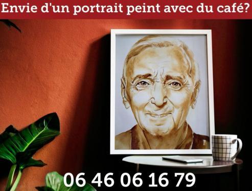 Commandez votre portrait peint à partir de votre photo !