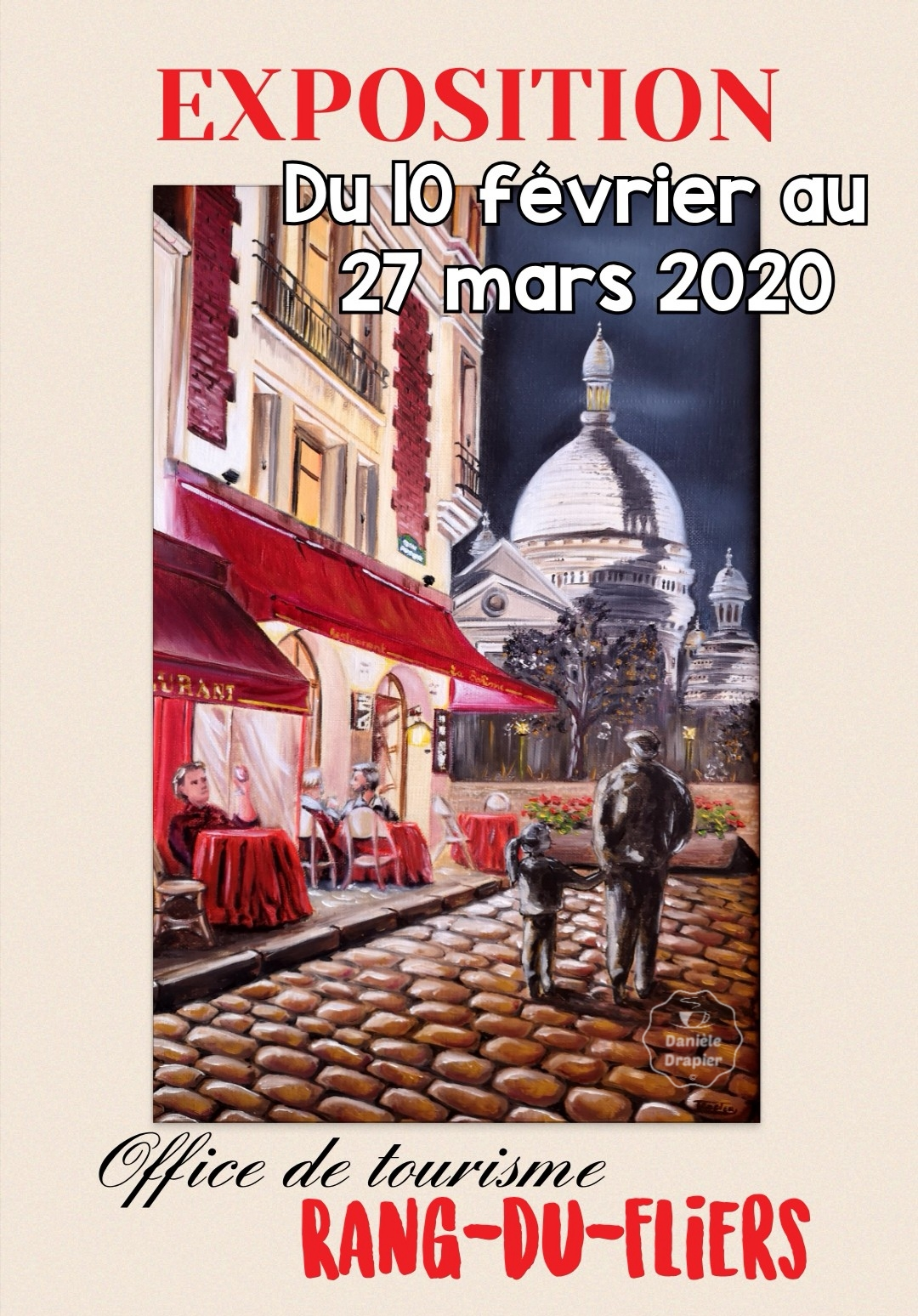 Exposition Danièle Drapier Artiste Peintre